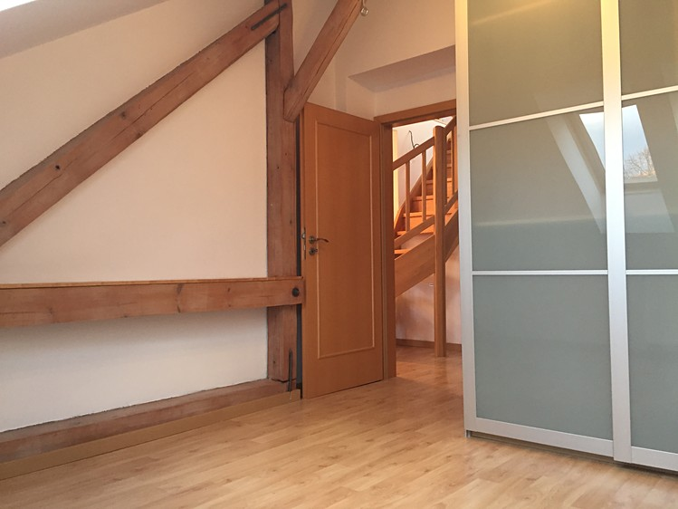 Attic duplex apartment 3+1, Prague 4, 80 m²